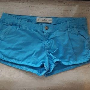 Hollister Shorts - Bright blue Hollister shorts